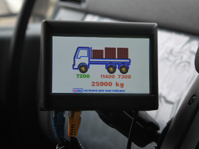 Axtec OnBoard Axle Load Indicator Multi-Axle Installation
