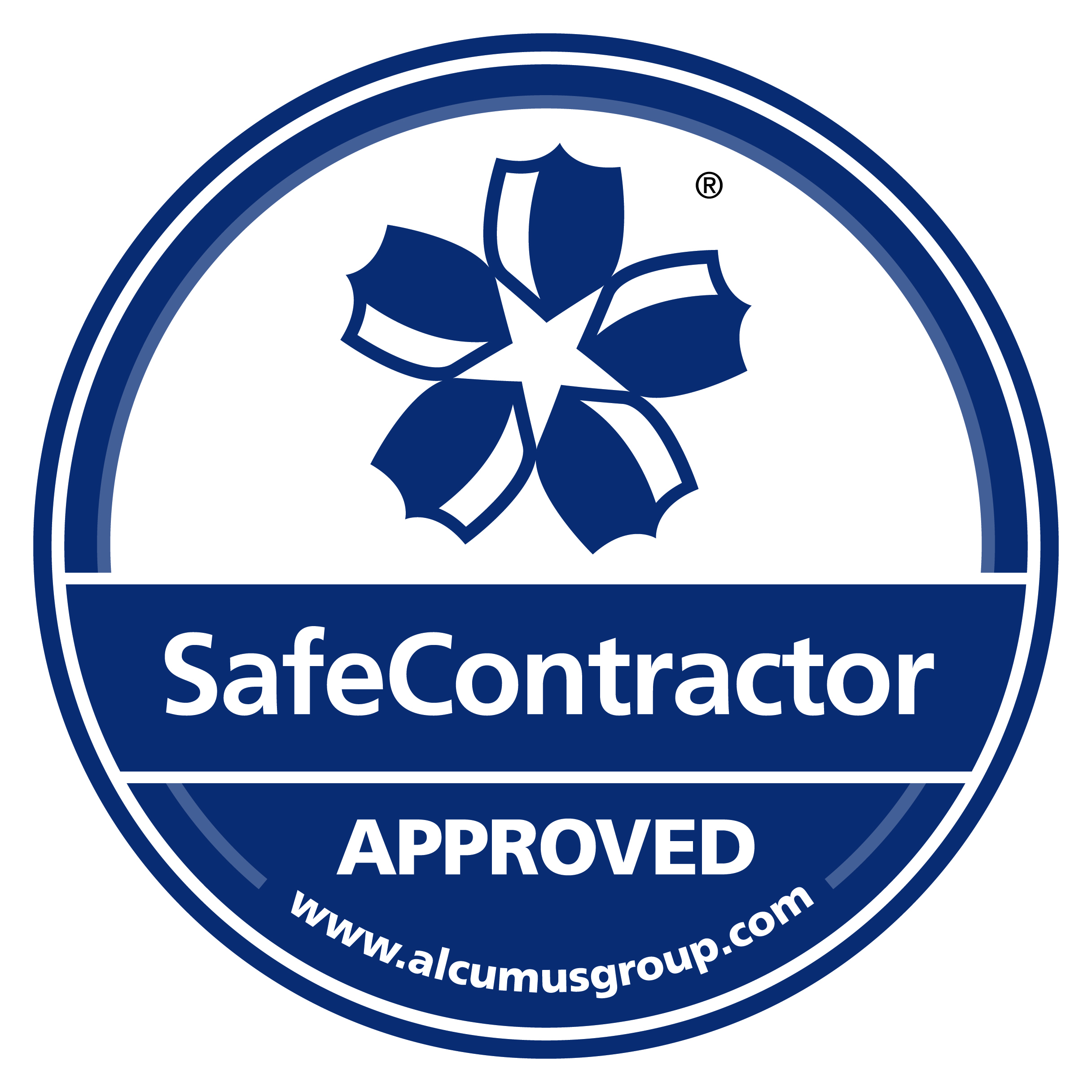 Safe Contractor Approved Label