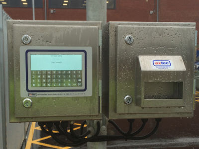 Axtec Static Axle Weighbridge Instrumentation